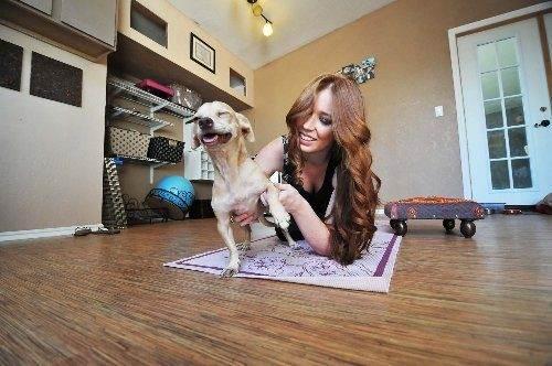Dog Yoga- Down Dog with Your Dog