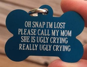 Pet Valentine - Gifts - Dog Tag