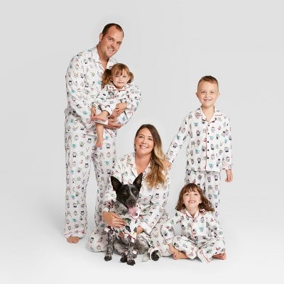 target launches doggy and me holiday pajamas